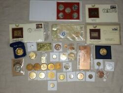 Collectible Medals Coins Tokens Bullion Stamps Collection