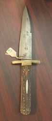 Rare Antique George Wostenholm And Son Washington Works Ixl Bowie Hunting Knife