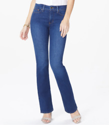 New Nydj Barbara Bootcut Lift And Tuck Jeans 6 8 10 12 14 Cooper Rinse 109 Nwt
