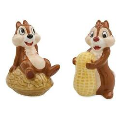 Parks Chip And Dale Figurine Salt And Pepper Shakers