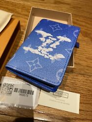 Nwt And Rare Sold Out Louis Vuitton Clouds Pocket Organizer Wallet M69679 Virgil