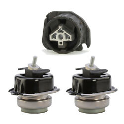 Front L And R Engine And Rear Trans Mount 3pcs 07-18 For Bmw X5 X6 3.0l 4.4l 4.8l