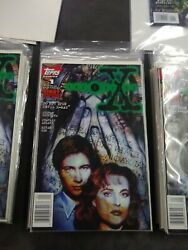 X-files 1 1st Comic Book Appearance Of Mulder And Scully Topps Comics Original