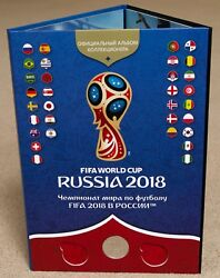 Collector's Album Fifa World Cup Russia 2018 Only 5000 Pcs.