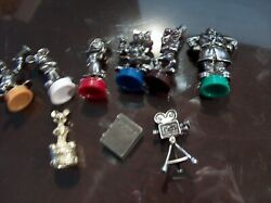 Clue Twilight Zone Tower Of Terror Game Pieces Pawns Ghosts Suspects Cards W1