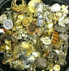 Single Earring Lot Metal Vintage 250+ Pieces Crafts