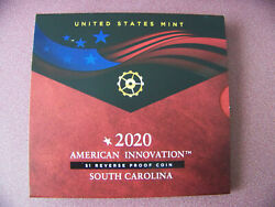 American Innovation 2020s 1 Reverse Proof Coin - South Carolina Pre In Hand