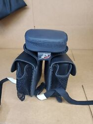 Phantom Pad With Attached Saddlebags Black