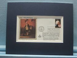 George Washington As A Freemason And First Day Cover Of His Own Stamp