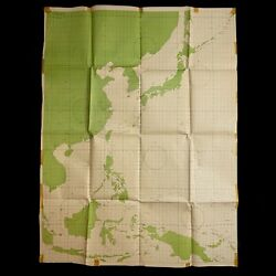 Rare Very Large Wwii Restricted B-17 B-24 B-29 Air Plotting Map Pacific Cincpac