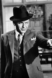 Frank Sinatra In Fedora And Suit Robin And The Seven Hoods 11x17 Mini Poster