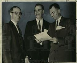 1962 Press Photo Southwest Shippers Advisory Board Meeting Leaders, Jung Hotel