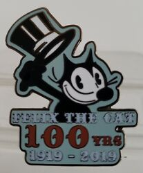 Felix The Cat 100 Years Anniversary 1919-2019 Collectible Le 500 Pin Free Shpg