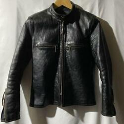 The Real Mccoyand039s Buco J100 Horsehide Jacket Black Size 36 Used From Japan