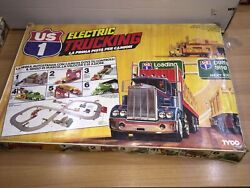 Tyco Electric Trucking With 6 Action Stations Slot Trucks Mib Vintage Italy