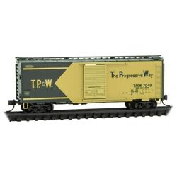 N Micro Trains 020 00 717 Toledo, Peoria And Western Tpw 40' Std Boxcar 7049