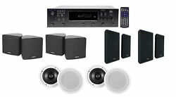Technical Pro H12x500ubt 6-zone Home Theater Receiver+cube+wall+ceiling Speakers