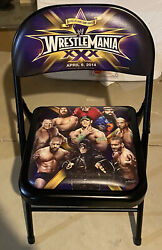 Wwe Wrestlemania 30 Ringside Chair New Orleans La Mercedes Benz Superdome