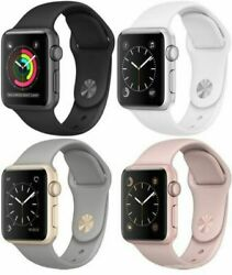 Apple Watch Series 3 38mm And Series 3 42mm Gps Smart Watch Mint Condtion