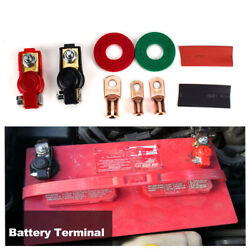 Car Vehicle Battery Terminal Quick Connector Cable Clamps Clips Auto Accessories