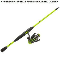 Fishing Pole Lewandrsquos Hypersonic Speed 6andprime Spinning Rod Reel Combo Ambidextrous