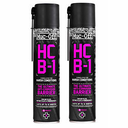 2 X Muc-off 400ml Hcb-1 Harsh Conditions Barrier Motorcycle Protection Spray