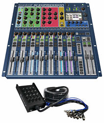 Soundcraft Si Expression 1 Digital Mixer Dsp 66-mixing Inputs+16-ch Snake Cable