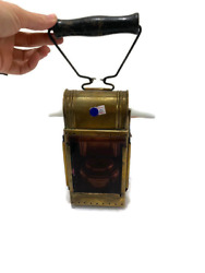 Kandil Lighted Lamp It Was Used In Ancient Wars -very Old -vintage-antique