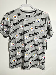 Nike Pittsburgh Steelers Repeat Tee Size Xl Youth