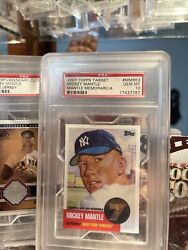 ⚾️mickey Mantle 2007 Topps Target Factory Exclusive Game Memorabilia Card Mmr-53