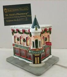 Hawthorne Village Coca Cola, St. Nick's Pharmacy Christmas Low Production Numbe