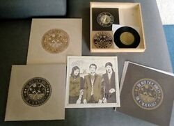 Sealed Avett Brothers - The Carpenter - Deluxe Wood Box Set W/ Autographed Print