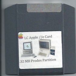 Macintosh Lc Apple Iie Card Zip 100 Boot Disk W/ 32 Mb Prodos Partition System 7