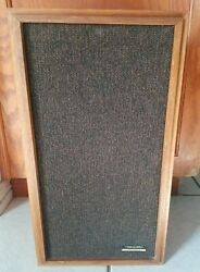 1 Realistic Optimus-2 Floor Speaker With 8 Inch Woofers- Tested And Working