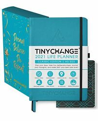 Life Planner Diary Daily Weekly And Monthly Organizer Notebook - Free Shipping