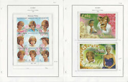 Guinea Stamp Collection On 6 Pages, Princess Diana, Whales, Ships, Jfz