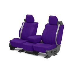For Chevy Express 1500 12-14 Neosupreme 1st Row Purple Custom Seat Covers