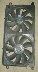 ✅ 2000-2005 Cadillac Deville Factory Electric Radiator Cooling Fans W/shroud