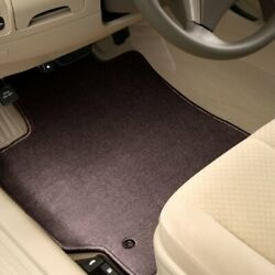 For Mercedes-benz E500 10-16 Carpeted 1st And 2nd Row Burgundy Floor Mats