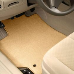 For Mercedes-benz E500 10-16 Carpeted 1st And 2nd Row Palomino Floor Mats