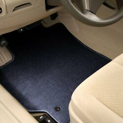 For Scion Tc 11-16 Carpeted 1st And 2nd Row Dark Blue Floor Mats