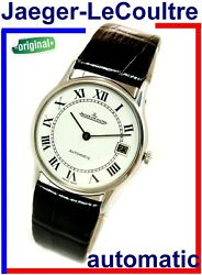 Extra Thin Jaeger-lecoultre Automatic In House 900 Model Ref 5001.48 Serviced