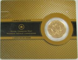 2007 Gold Canada 999.99 Fine 1oz 200 Maple Leaf In Cachet