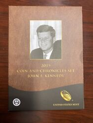 2015 John F. Kennedy Coin And Chronicles Set Jfk First Strike Eligible 2 Sets