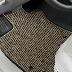 For Toyota Prius Plug-in 12-15 Floor Mats Berber Auto Mat 1st And 2nd Row Oak