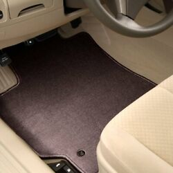 For Mercedes-benz E350 11-16 Carpeted 1st And 2nd Row Burgundy Floor Mats