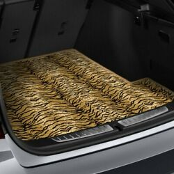 For Toyota Camry 92-96 Safari Auto Mat Carpeted Tiger Back Bench Cover Mat
