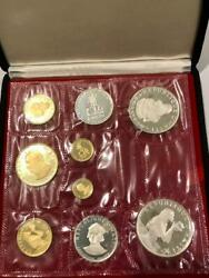 1973 Haiti Gold And Silver 9 Coin Set Proof Gourdes 25-50-100-200-500-1000 Rare