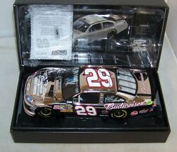 124 2011 Action Rcca Elite Platinum 29 Budweiser Military Kevin Harvick 1/24