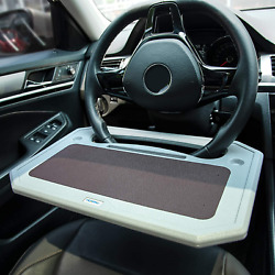 Laptop Steering Wheel Tray Desk Auto Car Computer Mount Holder Food Table Stand